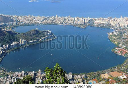 Rio de Janerio from the site of Christ the Redeemer