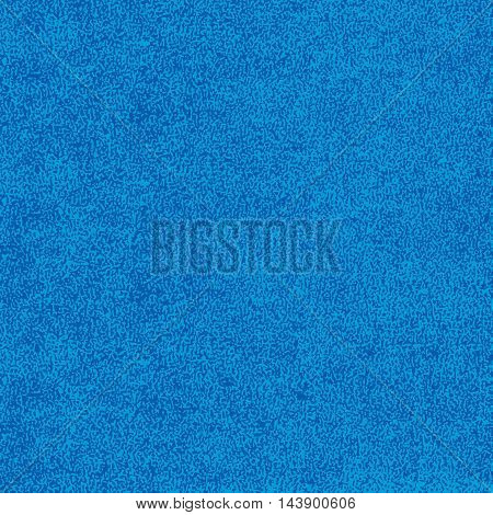 Blue texture with effect paint. Empty surface background with space for text or sign. Quickly easy repaint it in any color. Template in square format. Vector illustration swatch in 8 eps