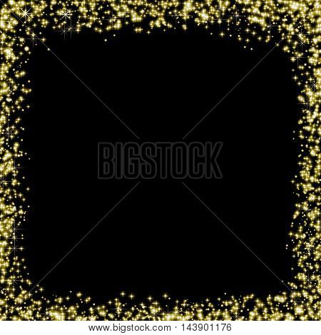 Abstract Glitter Background With Blur Style. It Looks Bright And Glittering. You Can Apply For Wallp