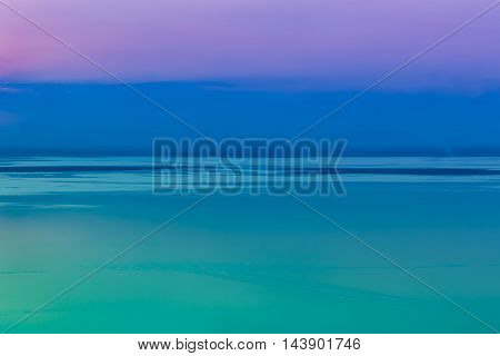 Fantastic Seascape With Cool Sky Background. Outdoor.