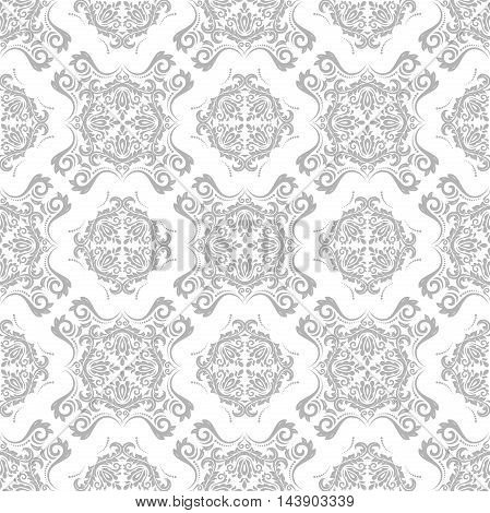 Oriental classic light pattern. Seamless abstract background with repeating elements