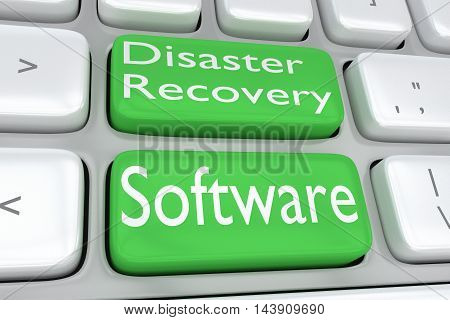 Disaster Recovery Software Concept
