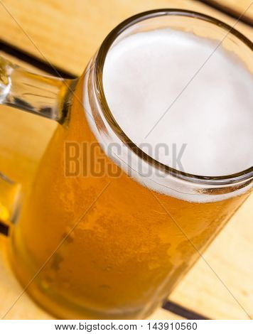 Glass Of Beer Indicates Lagers Tavern And Ales