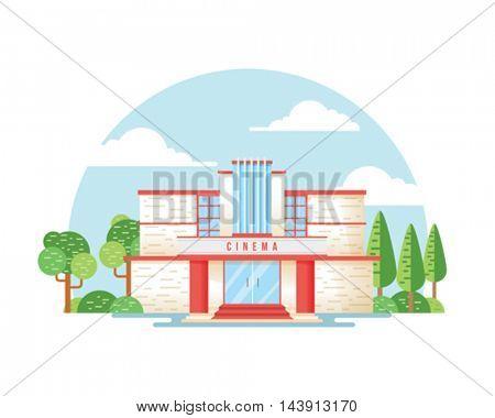Movie Theater building