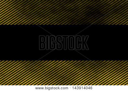 Illustration of a yellow smoky frame with diagonal stripes