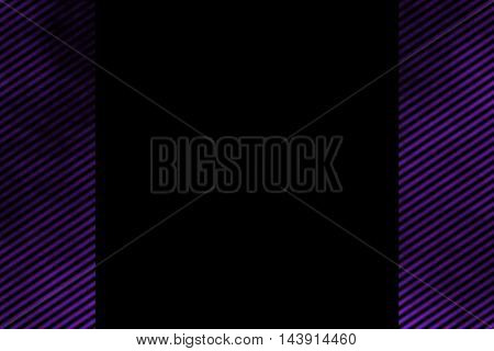 Illustration of a purple smoky side frame with diagonal stripes