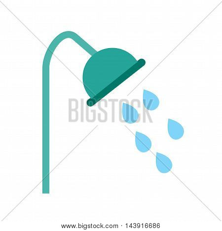 Shower, water, bath icon vector image. Can also be used for spa. Suitable for use on web apps, mobile apps and print media.