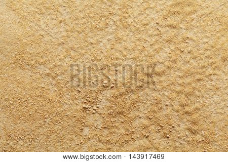 Organic dry powder of Indian frankincense, Salai or shallaki (Boswellia serrata). Macro close up background texture. Top view.