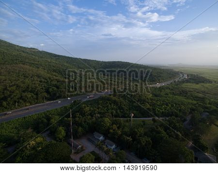 The Sky View images from drones thailand.