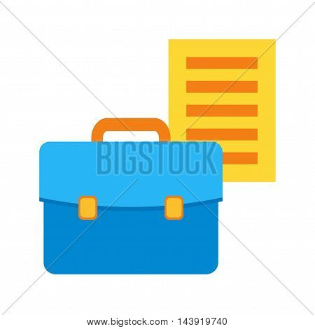 Business, documents, financial, icon vector image.Can also be used for finances trade. Suitable for web apps, mobile apps and print media.