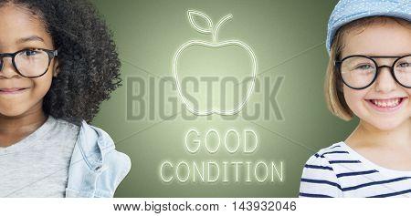 Children Good Condition Concept