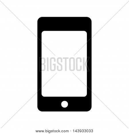 Smartphone icon, vector illustration isolated on background