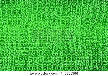Green mosaic texture background for design pattern artwork.