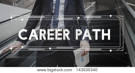 Career Path Professional Hiring Jobs Concept