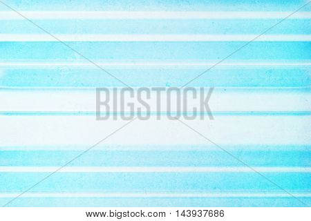 Abstract concrete stripy light blue background. Mock up 3D Rendering