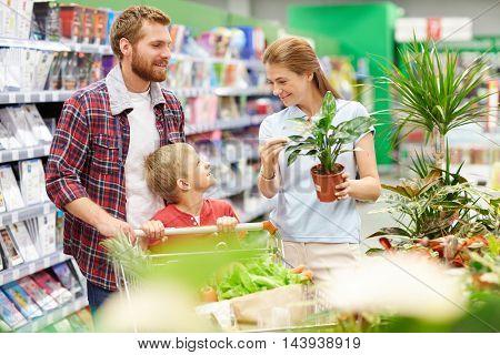 In hypermarket