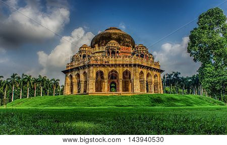 HDR image of lodhi garden situated in New Delhi,INDIA
