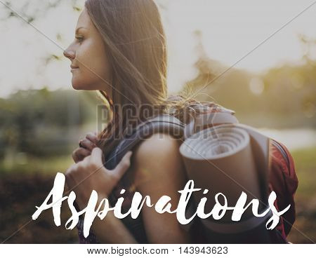 Aspirations Motivation Inspiration Aspire Concept