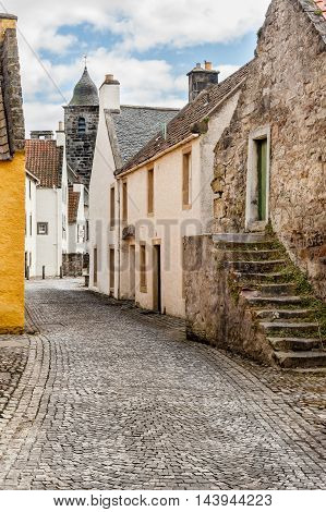Culross Palace is a late 16th - early 17th century merchant's house in Culross Fife Scotland.