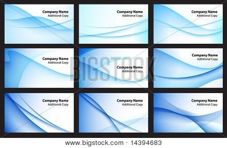 Abstract Color Background Set Original Vector Illustration