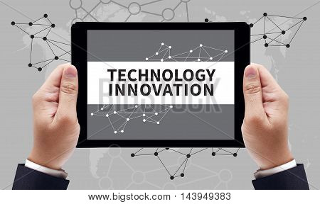 Technology Innovation Concept