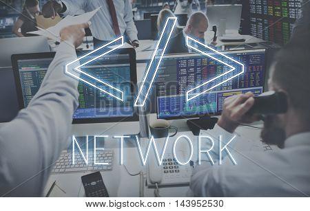 Computer Code HTML Symbol Graphic Concept