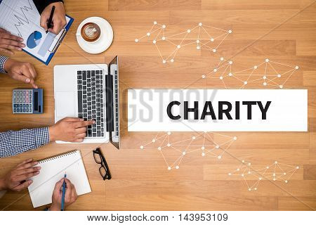 Charity Donate Give Concept