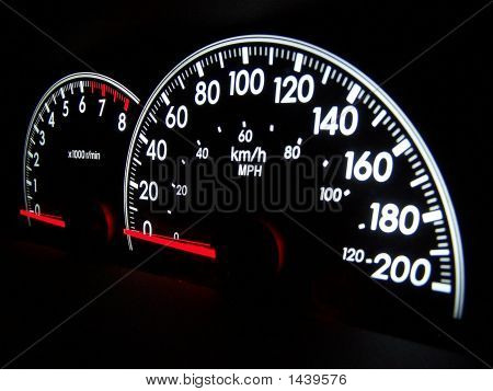 Speedometer From Angle