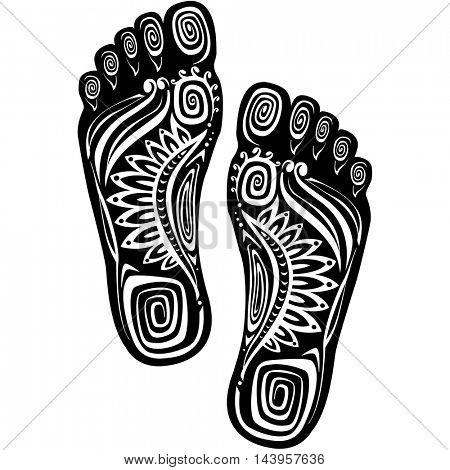 Decorative feet