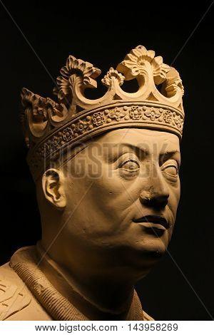 Statue Of King John I Of Portugal