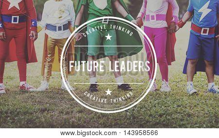 Future Leader Boss Management Coaching Concept