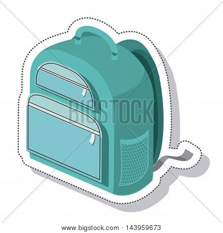 travel suitcase isolated icon vector illustration design