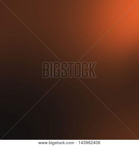 Abstract blur of orange black luxury background