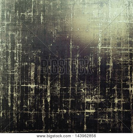 Grunge old texture used as abstract vintage style background. With different color patterns: gray; yellow (beige); brown; white; black