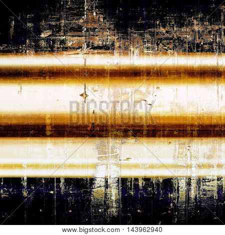 Vintage decorative texture with grunge design elements and different color patterns: blue; yellow (beige); brown; white; black