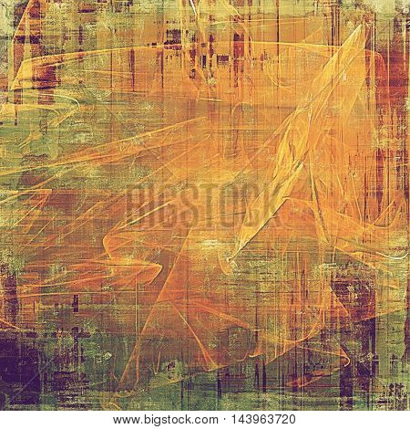 Grunge texture, decorative vintage background. With different color patterns: green; red (orange); purple (violet); yellow (beige); brown; pink