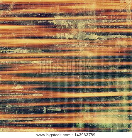Retro texture, shabby and ragged background in grunge style. With different color patterns: gray; green; red (orange); yellow (beige); brown; black