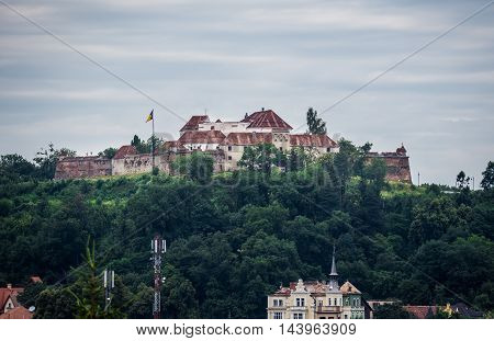 Old Fortress in Brasov city in Romania