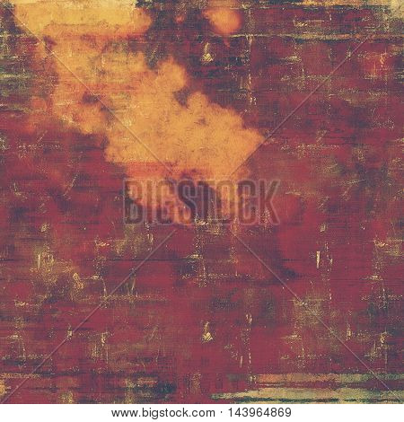 Grunge vintage template or antique background with different color patterns: red (orange); purple (violet); yellow (beige); brown; pink