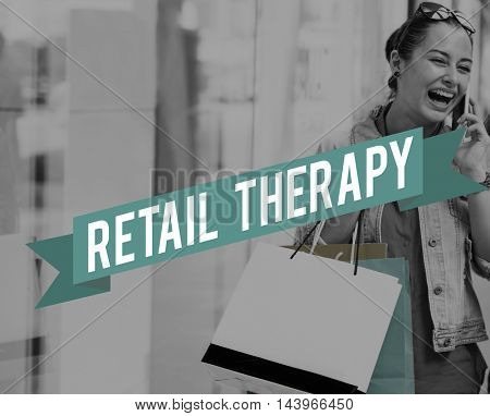 Shopping Commerce Capitalism Purchasing Mall Concept
