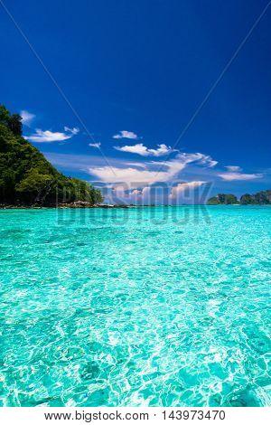Sunny Waters Sea Scene