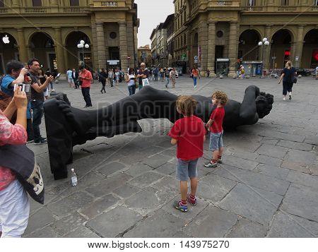 Black David Replica In Florence