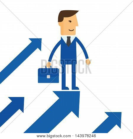 Searching for opportunities. Business concept vector eps10