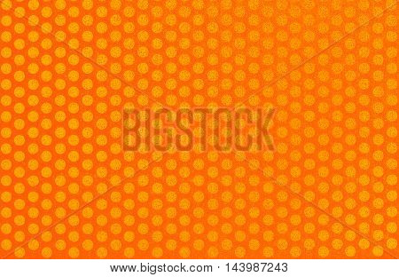 background pattern: orange and yellow dot pattern for general graphic design or wallpaper with texture effect