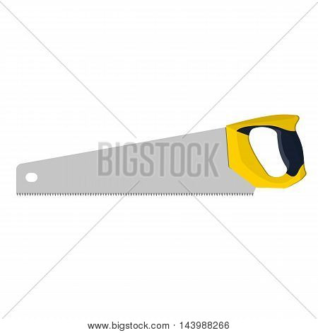 Handsaw For Wood, Vector Illustration