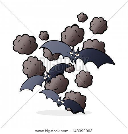 cartoon vampire bats