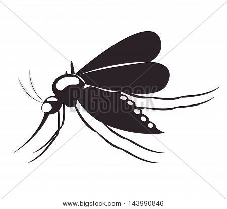 fly transmitter isolated icon vector illustration design