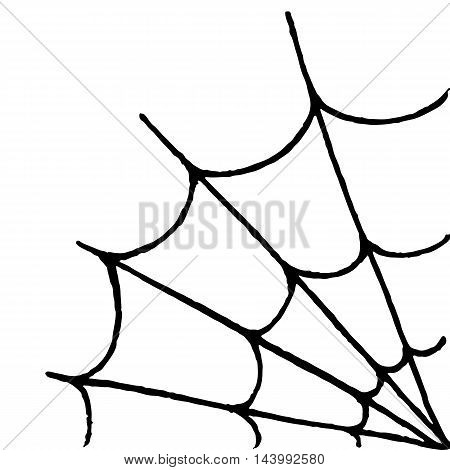 Monochrome black and white web hand drawn doodle sketch vector