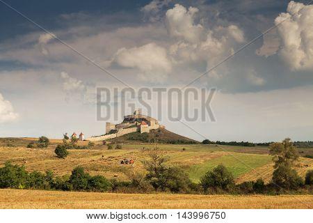 Rupea medieval fortress, in Brasov county, Transylvania