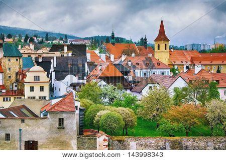 View of the Cesky Krumlov, Czech Republic